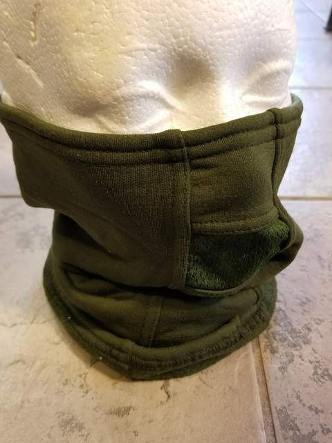 Balaclava Fleece Iecs Neck Gaiter Od Army Issue