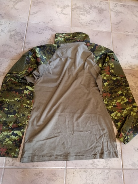 Frog Cadpat Shirt Small Army Issue