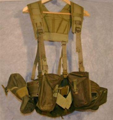 Canadian army surplus 82 pattern web gear, Army Issue