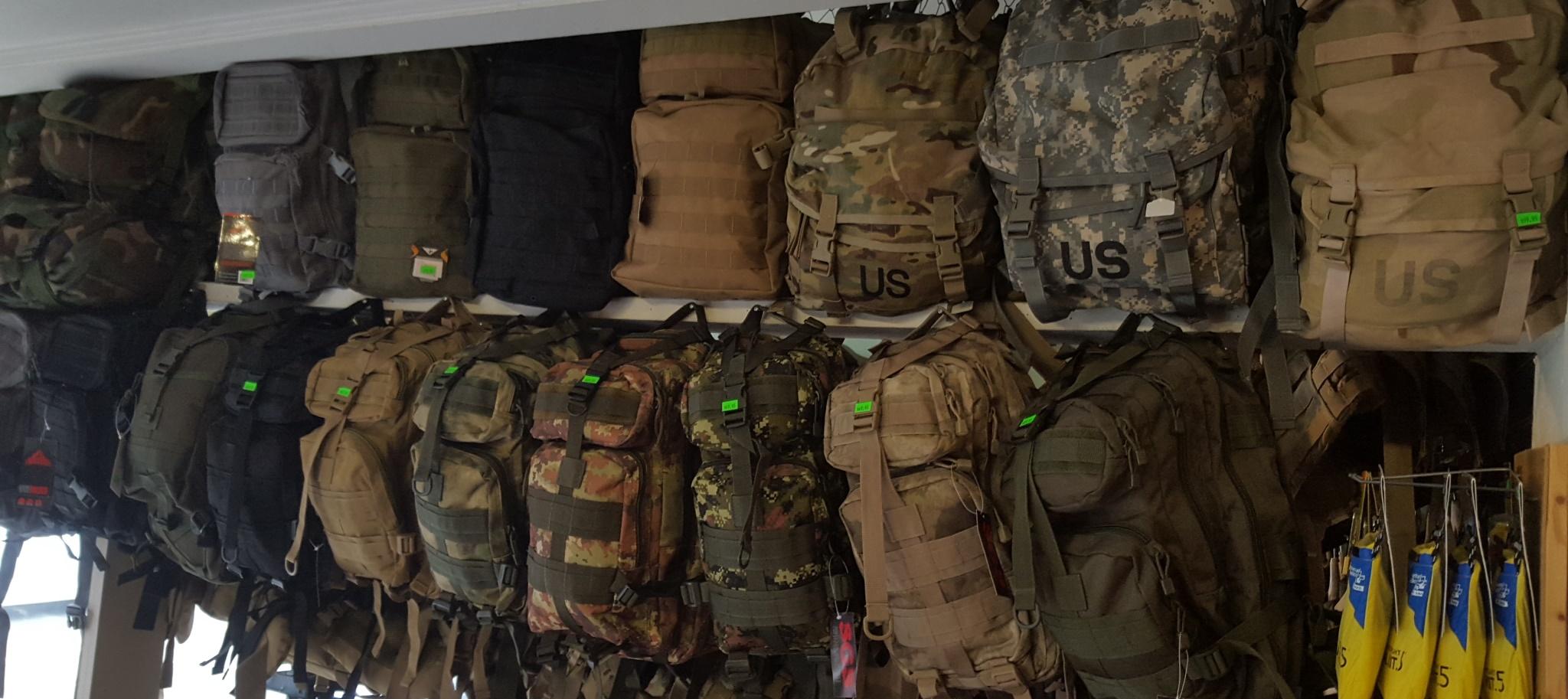 Army Navy Store Backpacks- Fenix Toulouse Handball